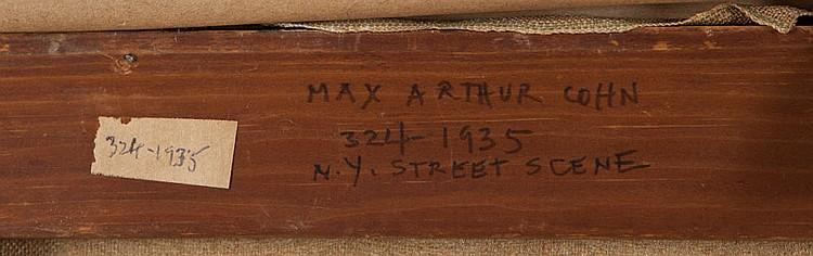 Max Arthur Cohn (1903-1998 New York, NY)