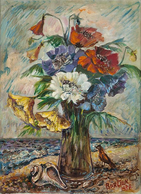 David Burliuk (1882-1967 Long Island, NY)