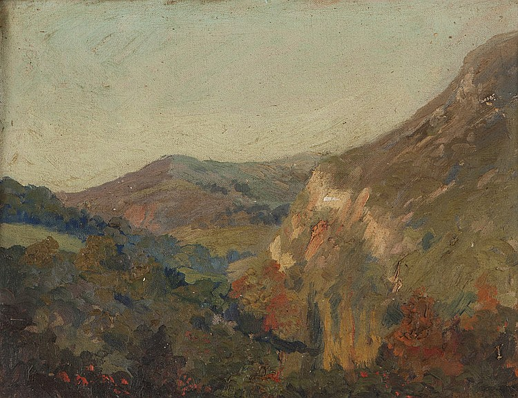 George Demont Otis (1879-1962 Kentfield, CA)