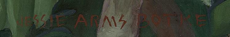 Jessie Arms Botke (1883-1971 Santa Paula, CA)