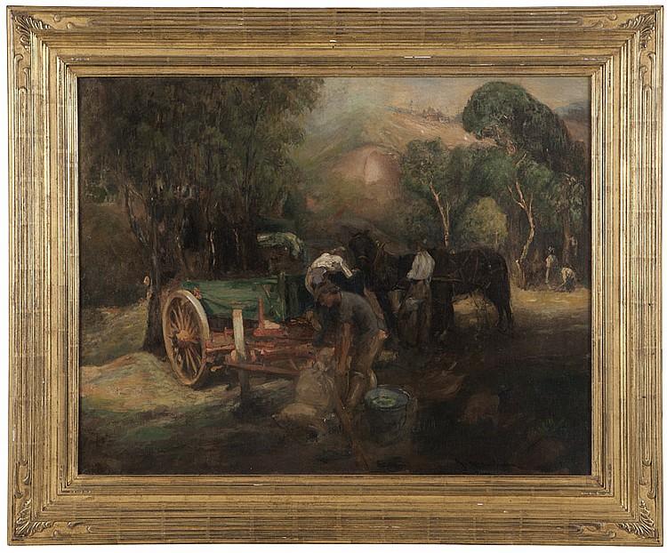 Jean Mannheim (1863-1945 Pasadena, CA)