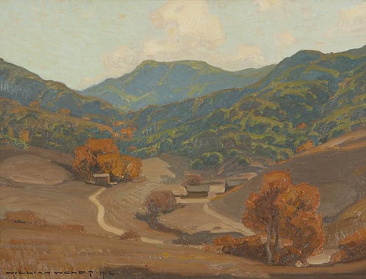 William Wendt (1865-1946 Laguna Beach, CA)