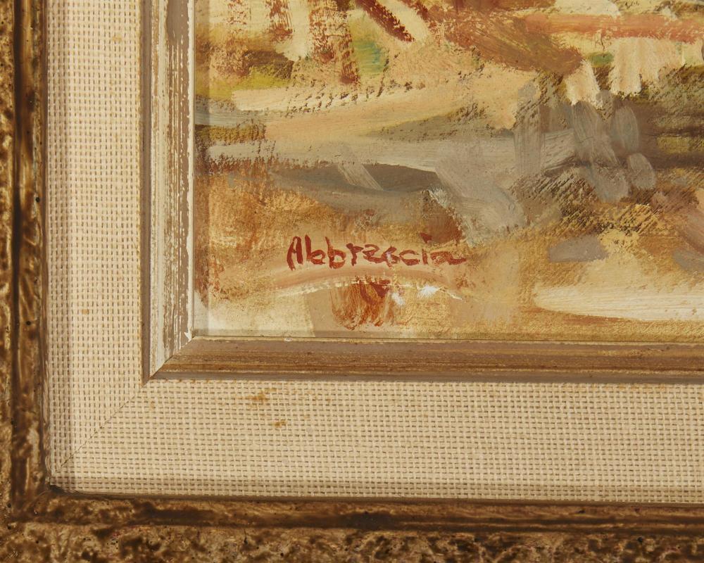 """Joe Abbrescia, (1936-2005, Kalispell, MT), """"La Roja Borla"""
