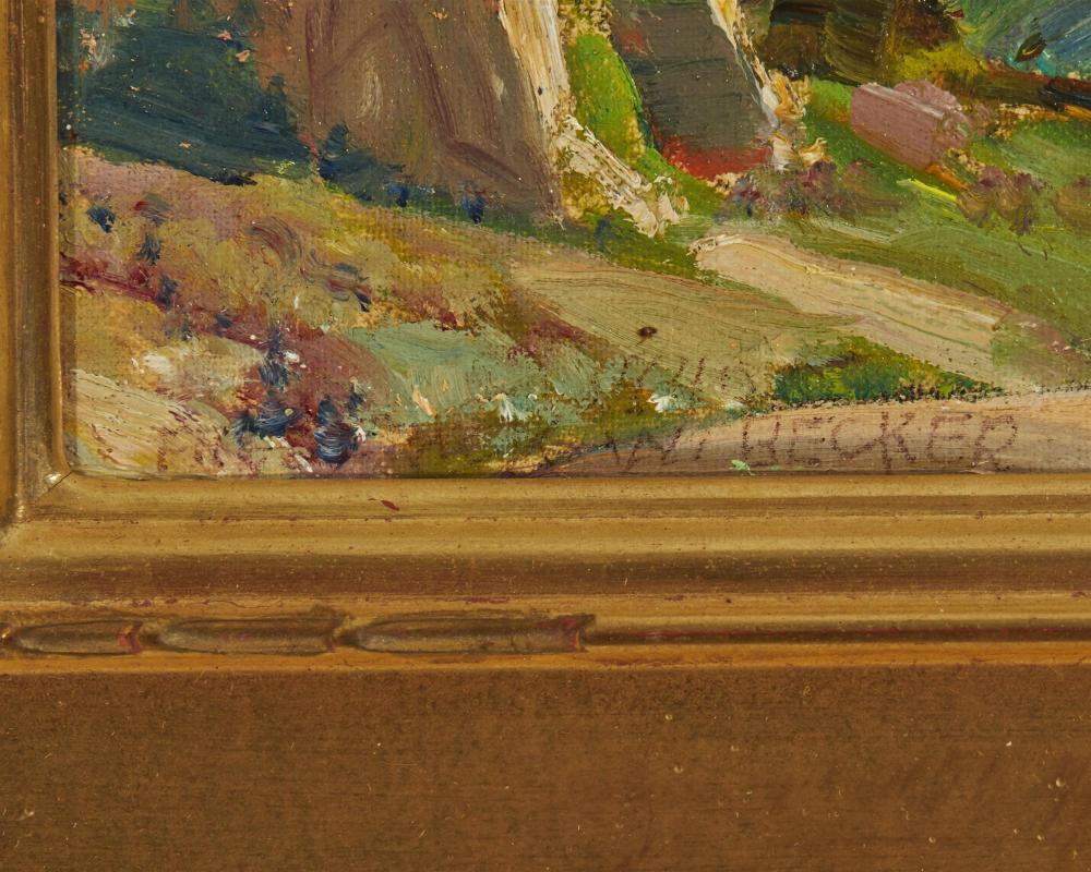 Frederick William Becker, (1888-1974, Palm Springs, CA),