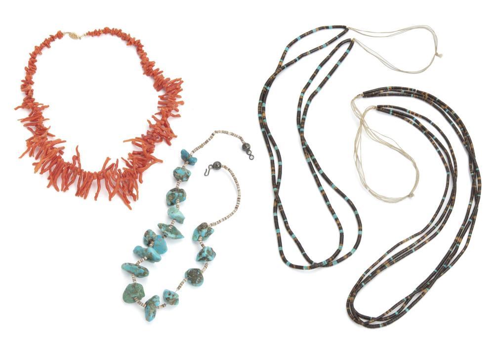 Four necklaces