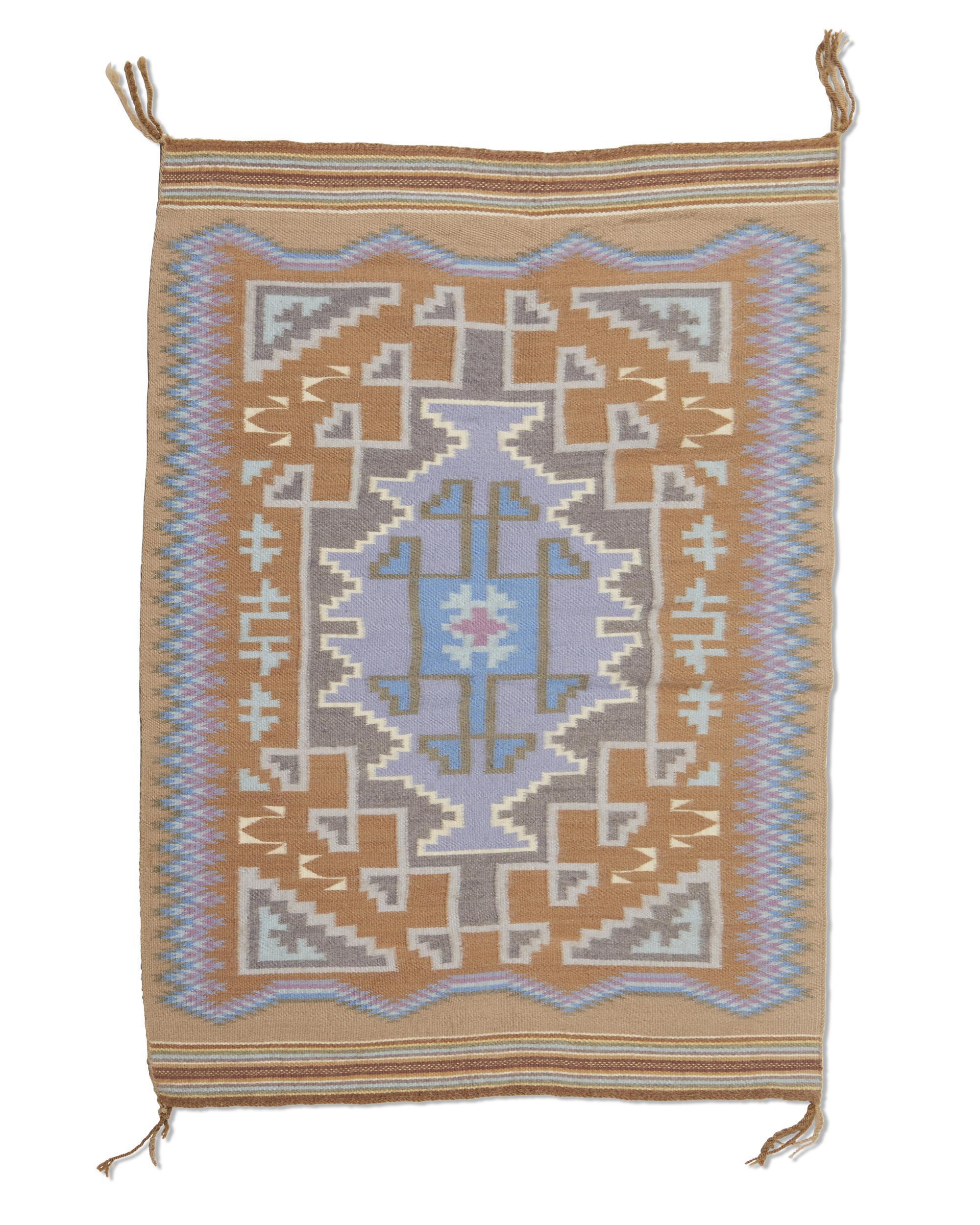 Three small Navajo Regional Rugs