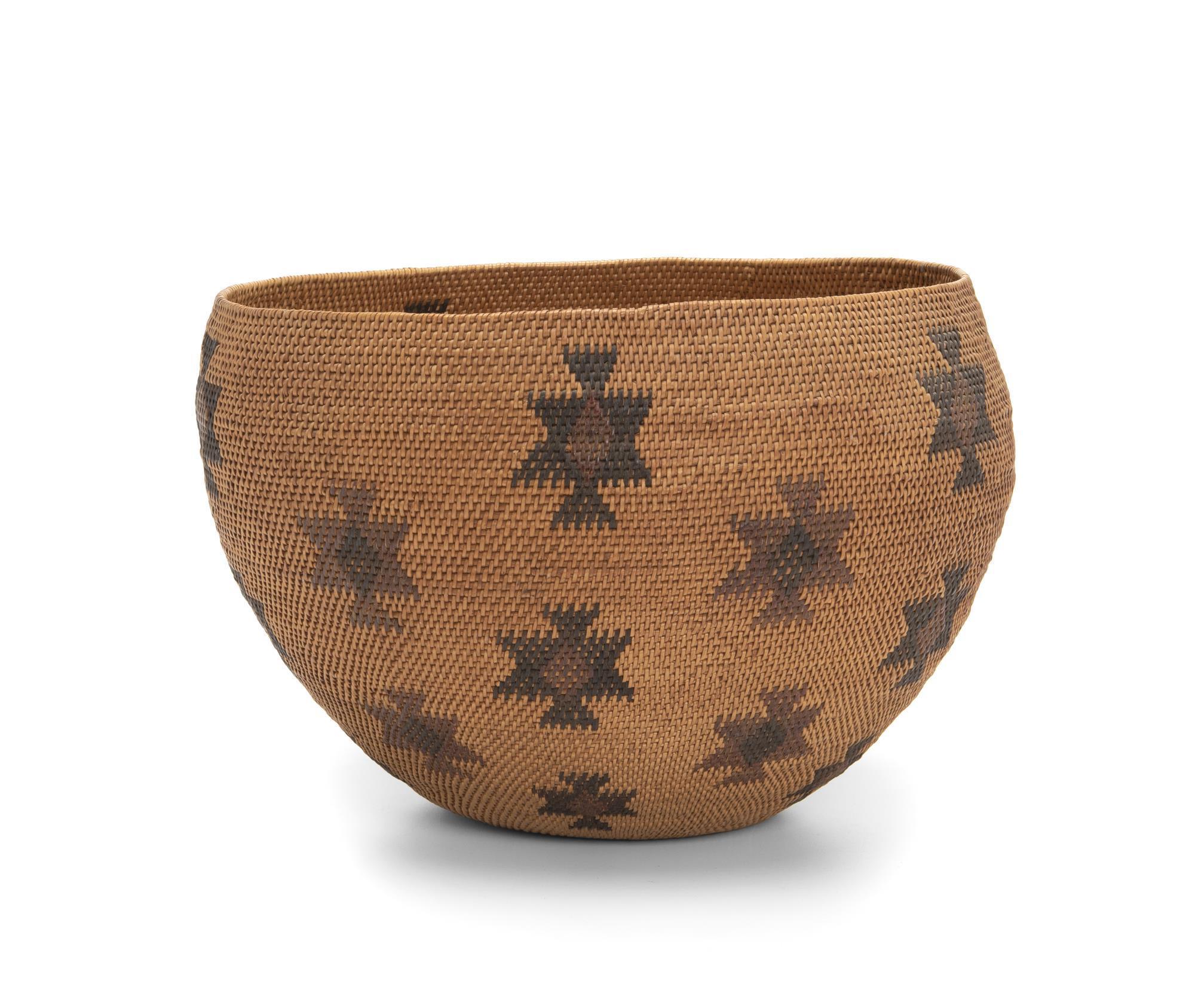 A Miwak/Paiute basket