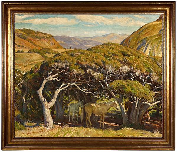 Howard Everett Smith A.N.A. (1885-1970 Carmel, CA)