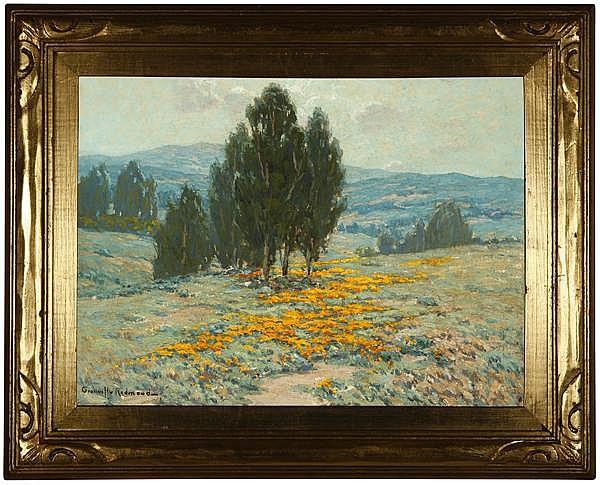 Granville Redmond (1871-1935 Los Angeles, CA)