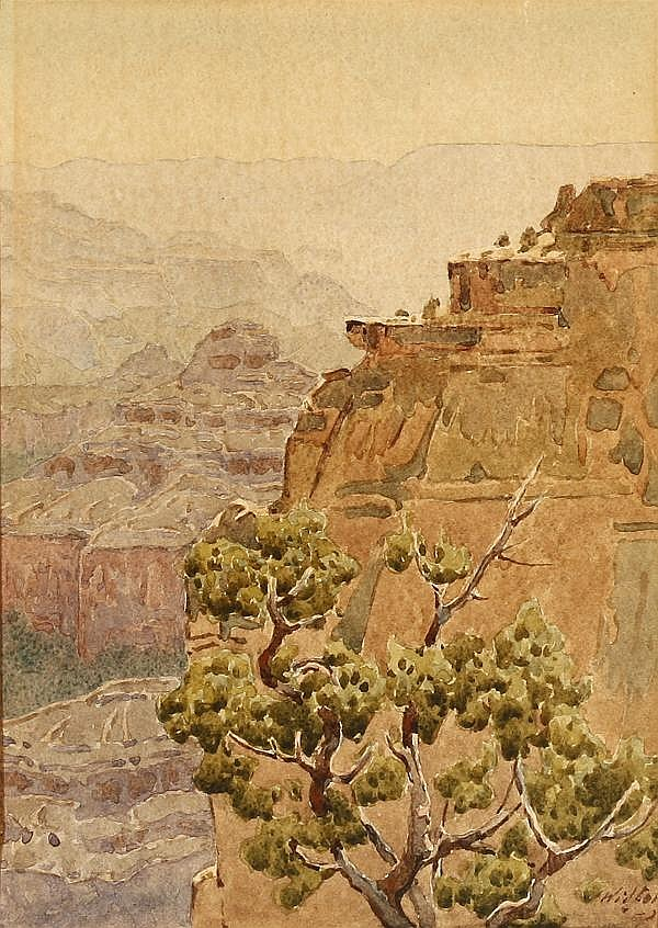 Gunnar Widforss (1879-1934 Grand Canyon, AZ)