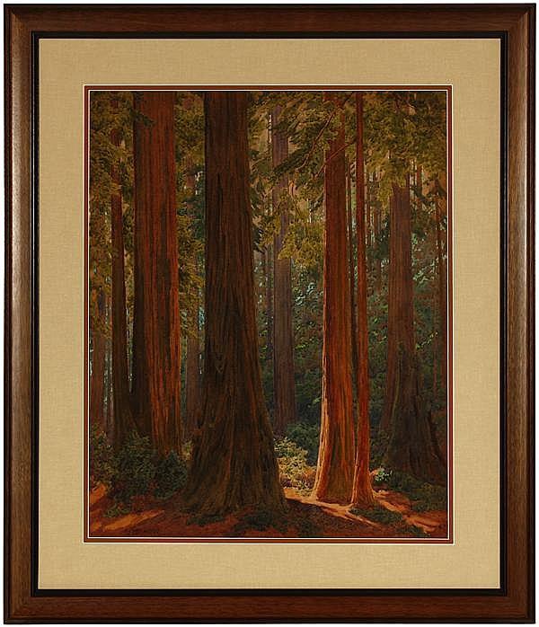 Gunnar Widforss (1879-1934 Grand Canyon, AZ)