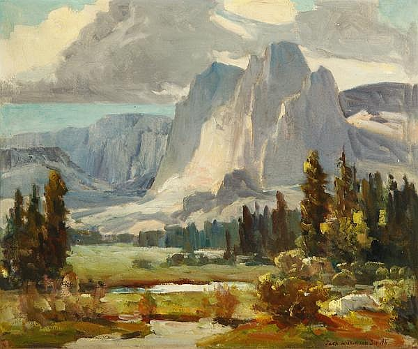 Jack Wilkinson Smith (1873-1949 Alhambra, CA)