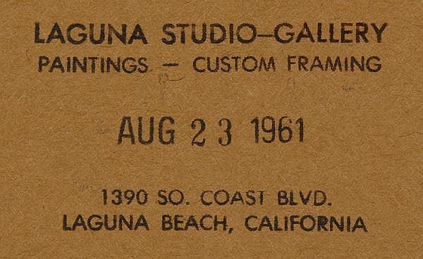 Burt Procter (1901-1980 Palm Springs, CA)