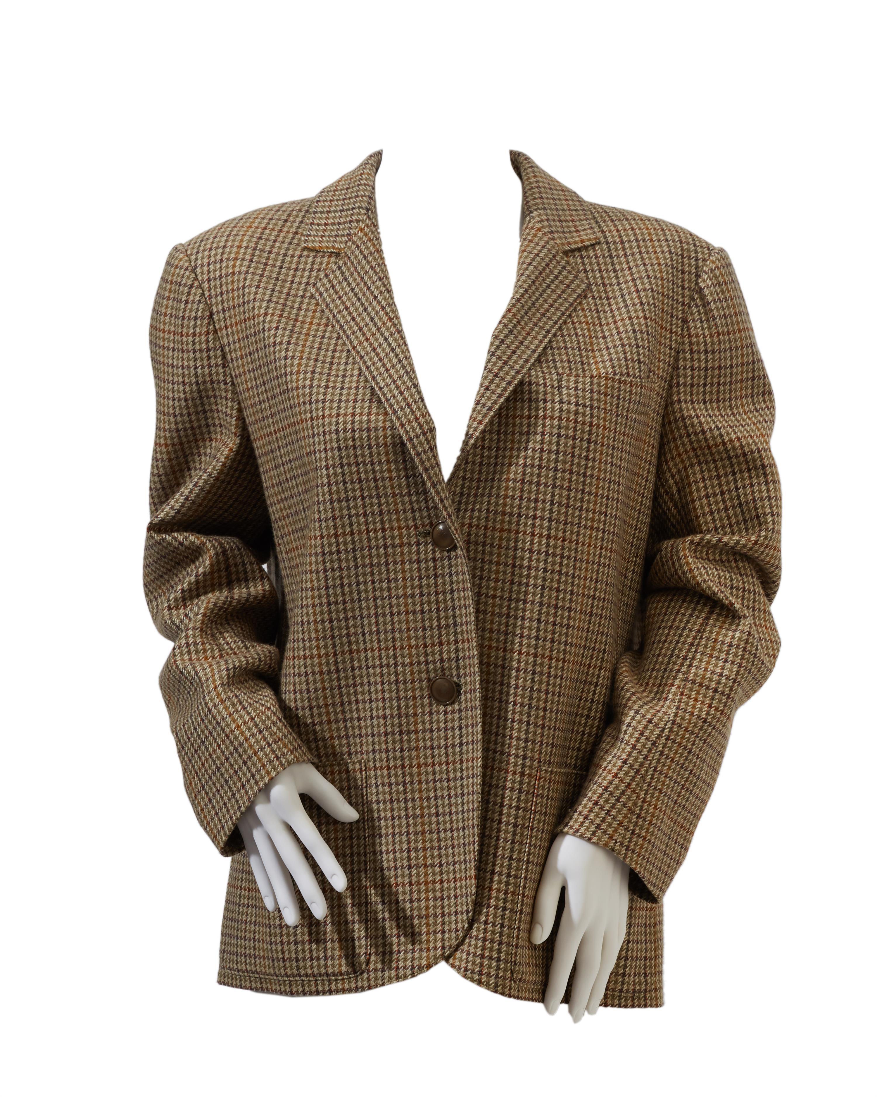 An Hermès cashmere coat