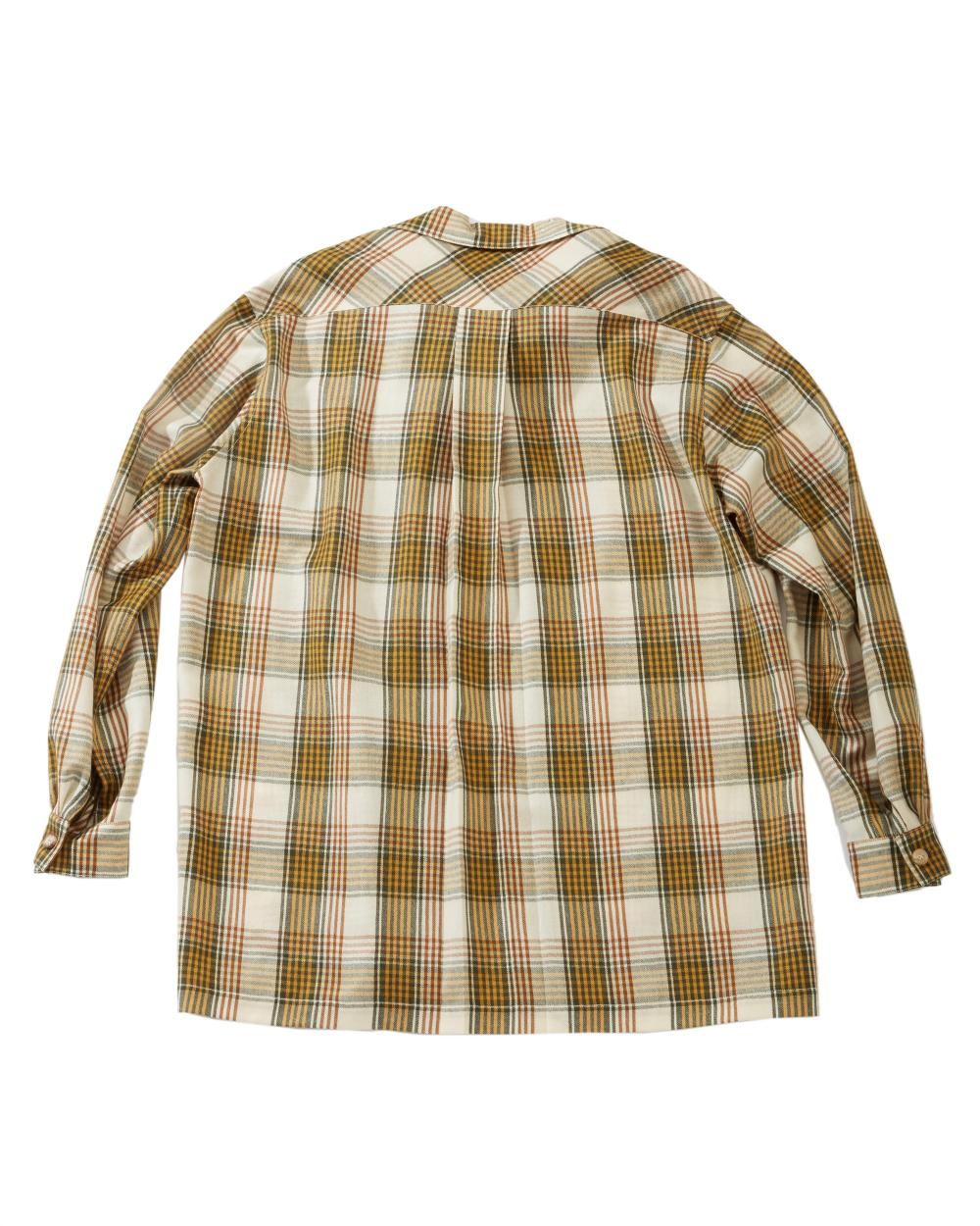 A ladies Hermès wool plaid flannel shirt and a pair of riding pants