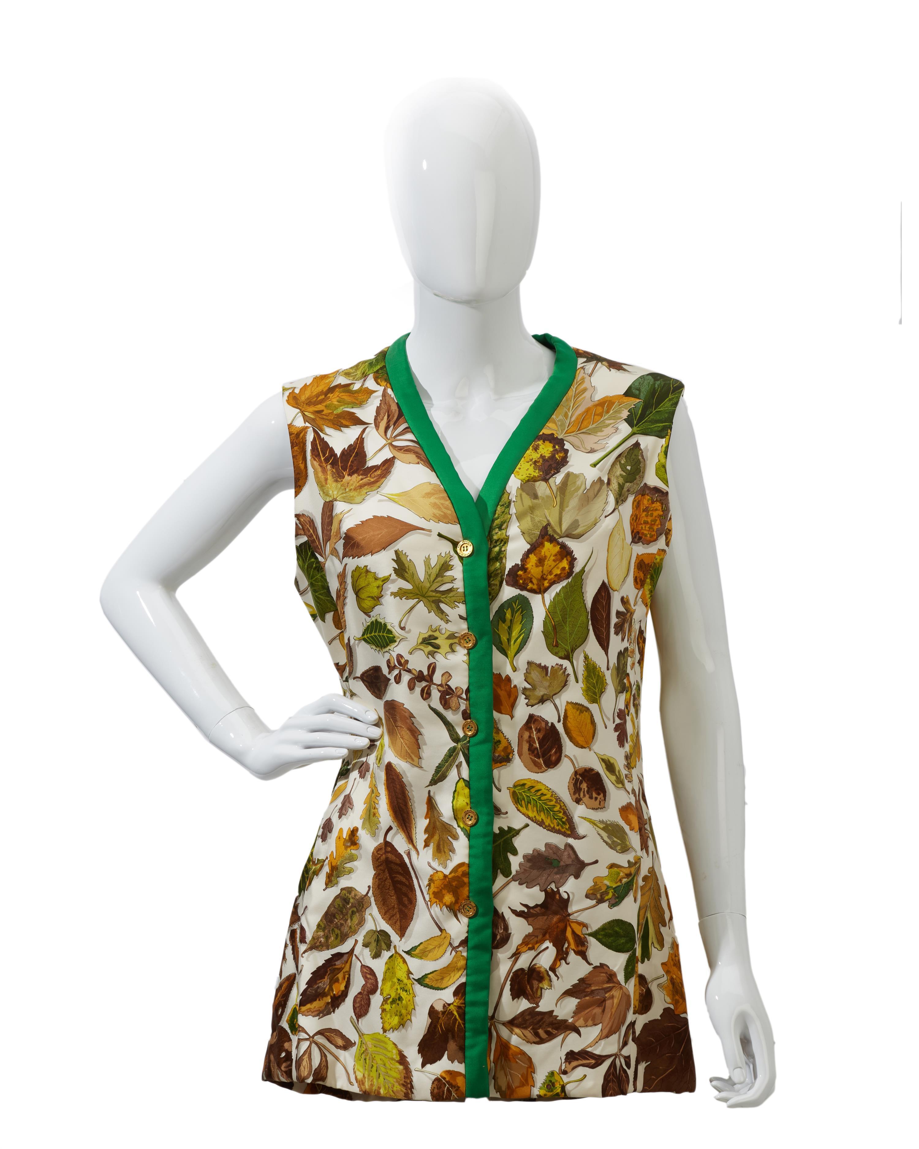 An Hermès vest