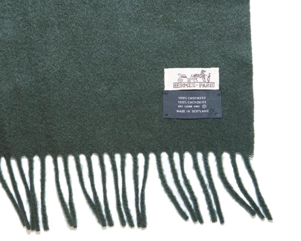 An Hermès cashmere shawl