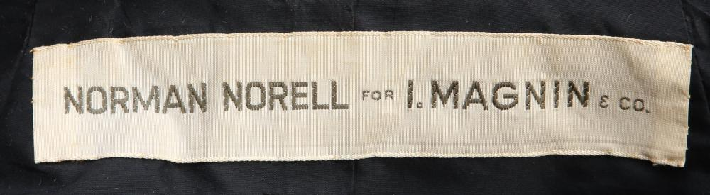 A Norman Norell striped coat