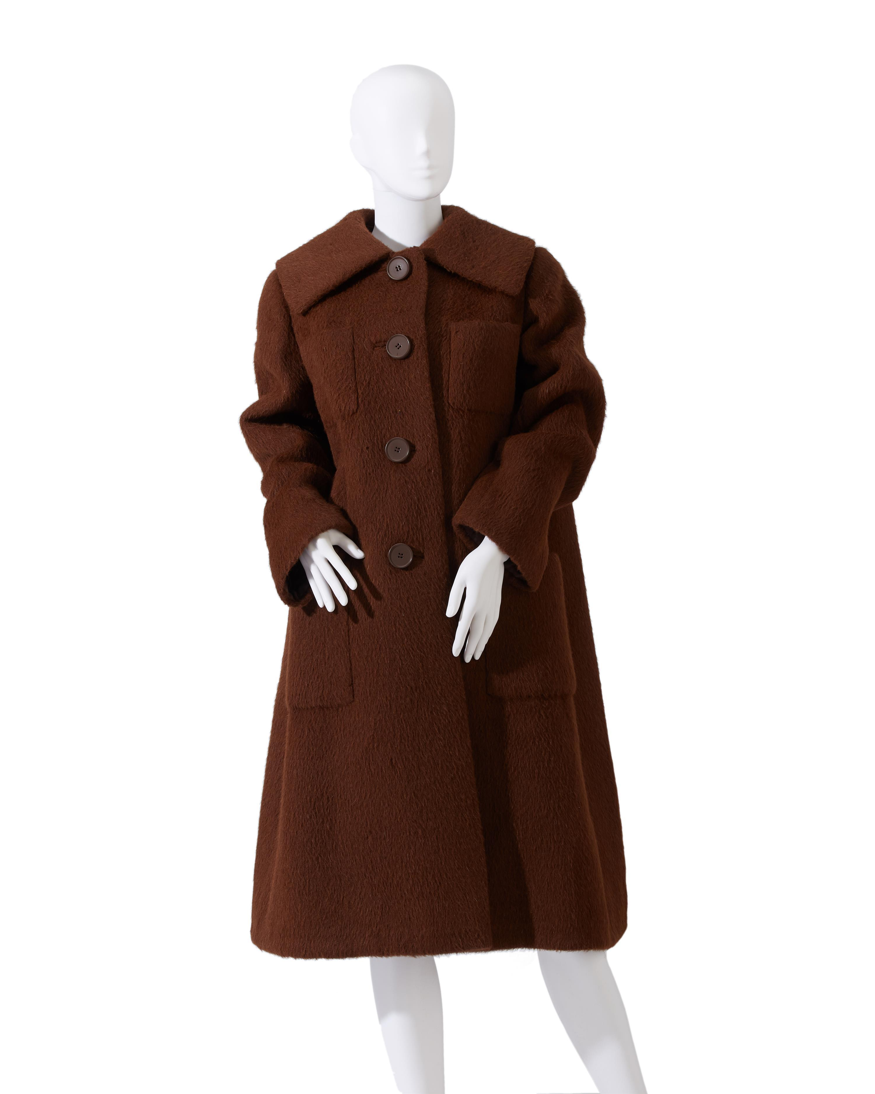 A Norman Norell wool coat