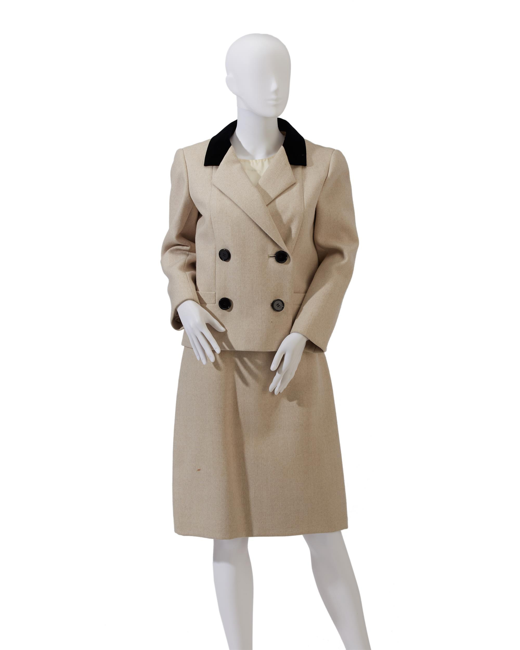 A Norman Norell skirt suit