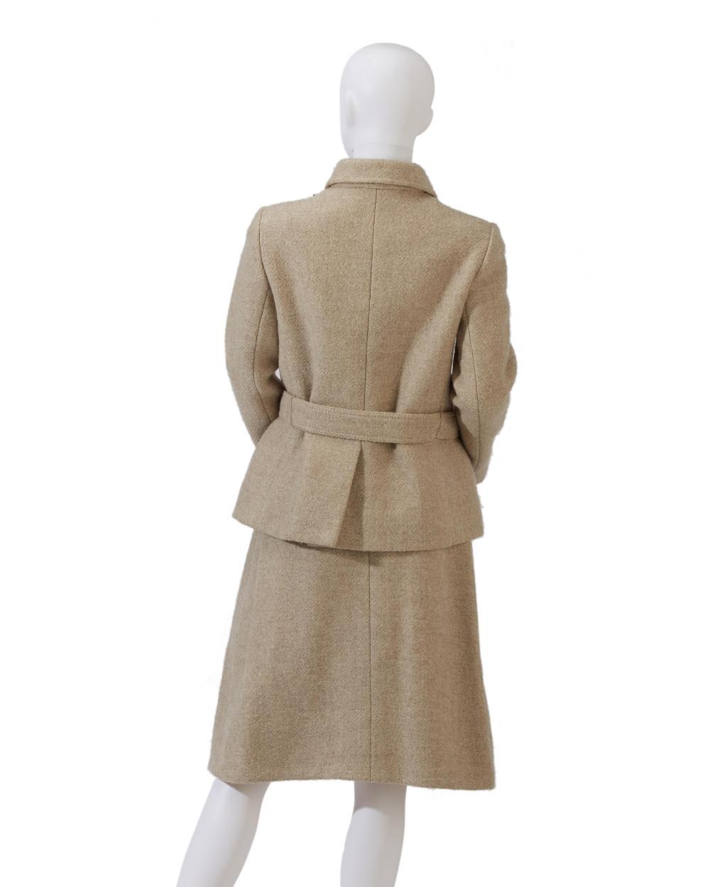 An Hermès skirt suit