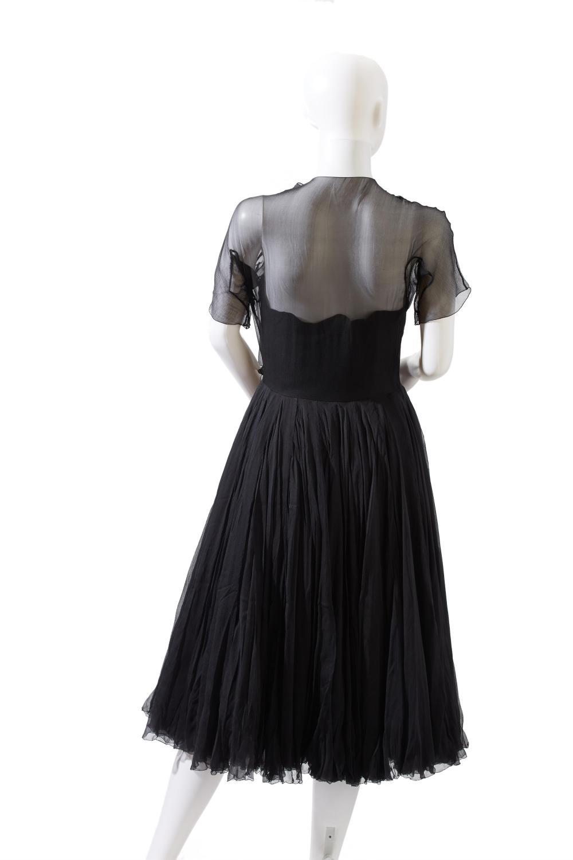 Three vintage evening dresses