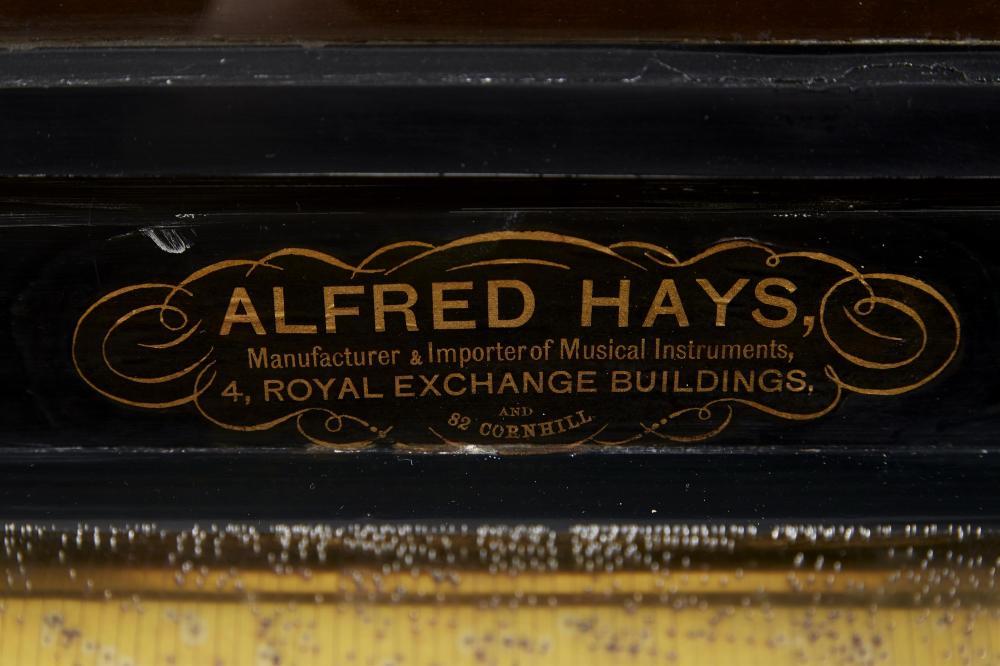 A Nicole Freres Swiss mandoline express cylinder music box