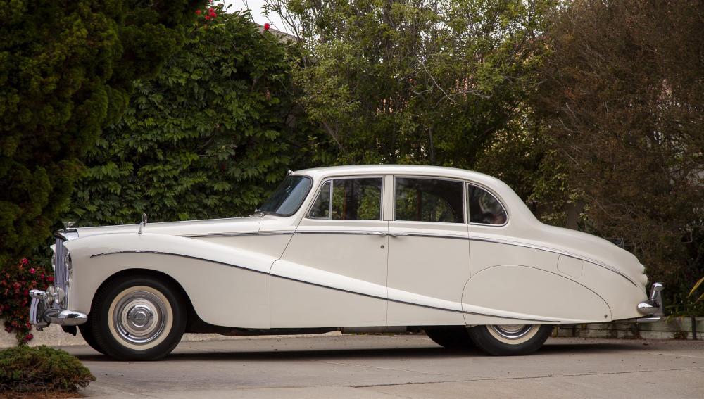 A 1956 Bentley S1 saloon