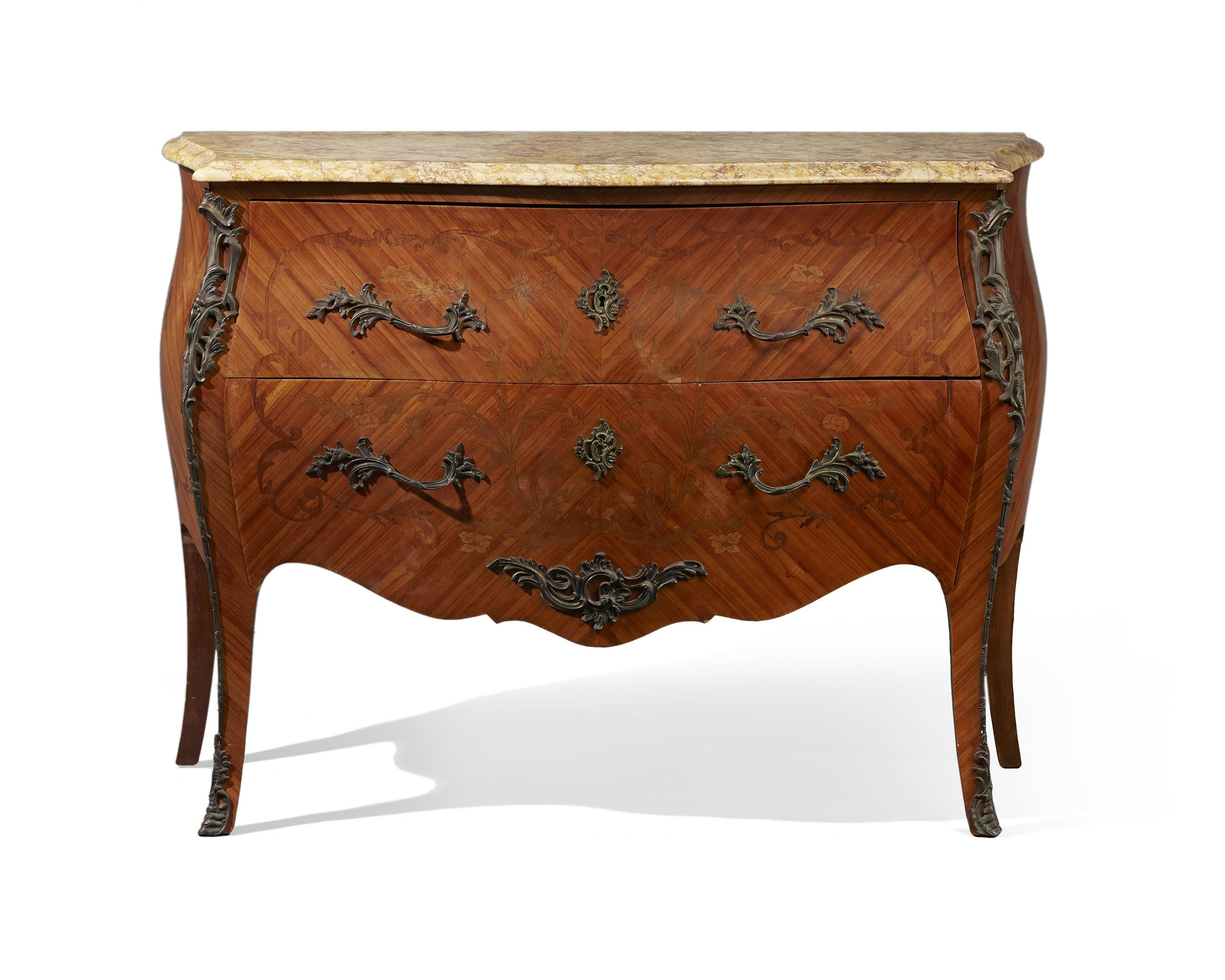 A French Louis XV-style commode