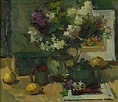Sergei Bongart (1918-1985 Santa Monica, CA)