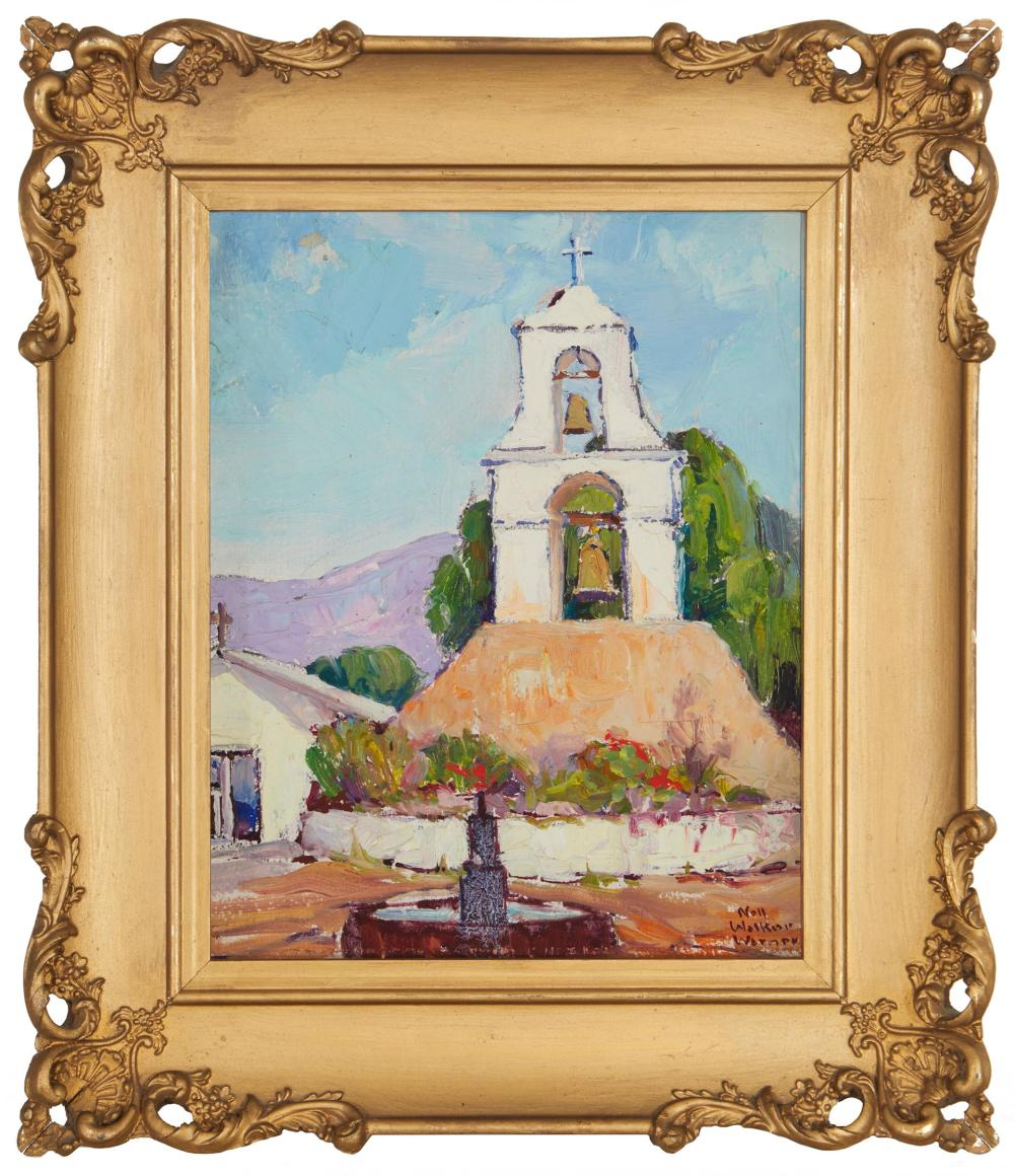 Nell Walker Warner, (1891-1970, Carmel, CA),