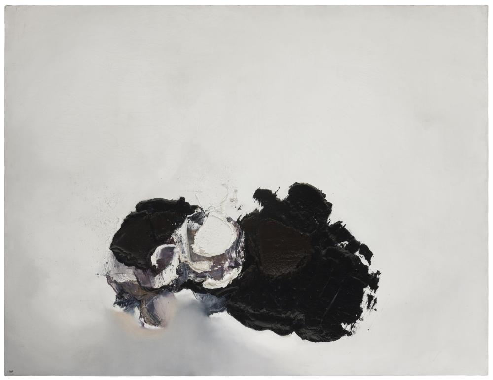 """Luis Feito Lopez, (b. 1929 Spanish), """"No 226-B,"""" 1960, Oil on canvas, 35"""" H x 45.5"""" W"""