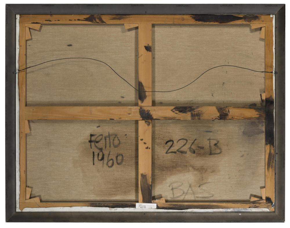 Luis Feito Lopez, (b. 1929 Spanish),