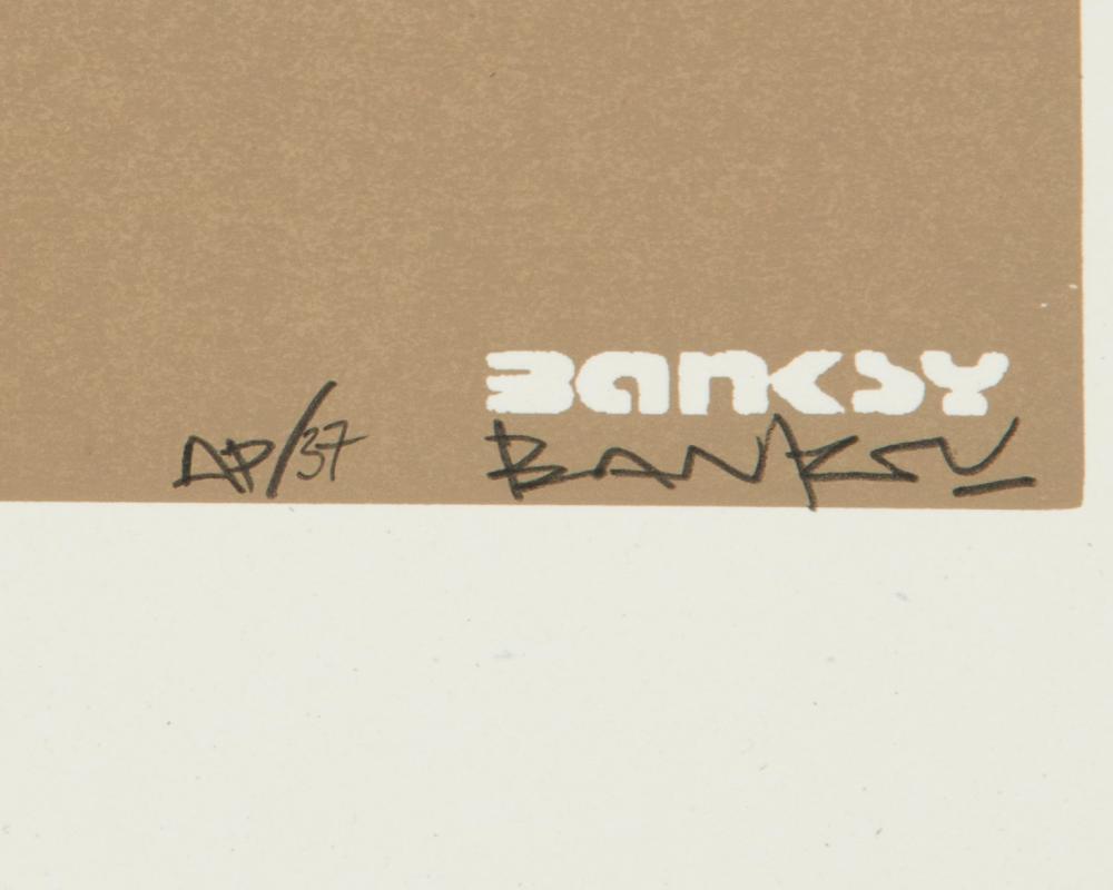 Banksy , (b. 1974 British),