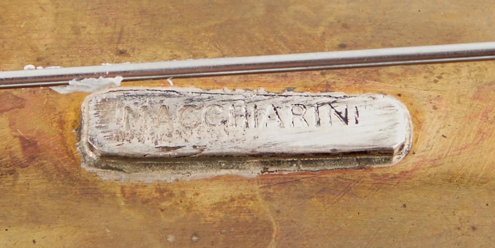 A Peter Macchiarini brooch