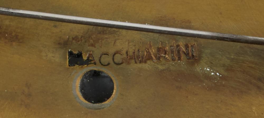 A Peter Macchiarini mixed-metal pendant