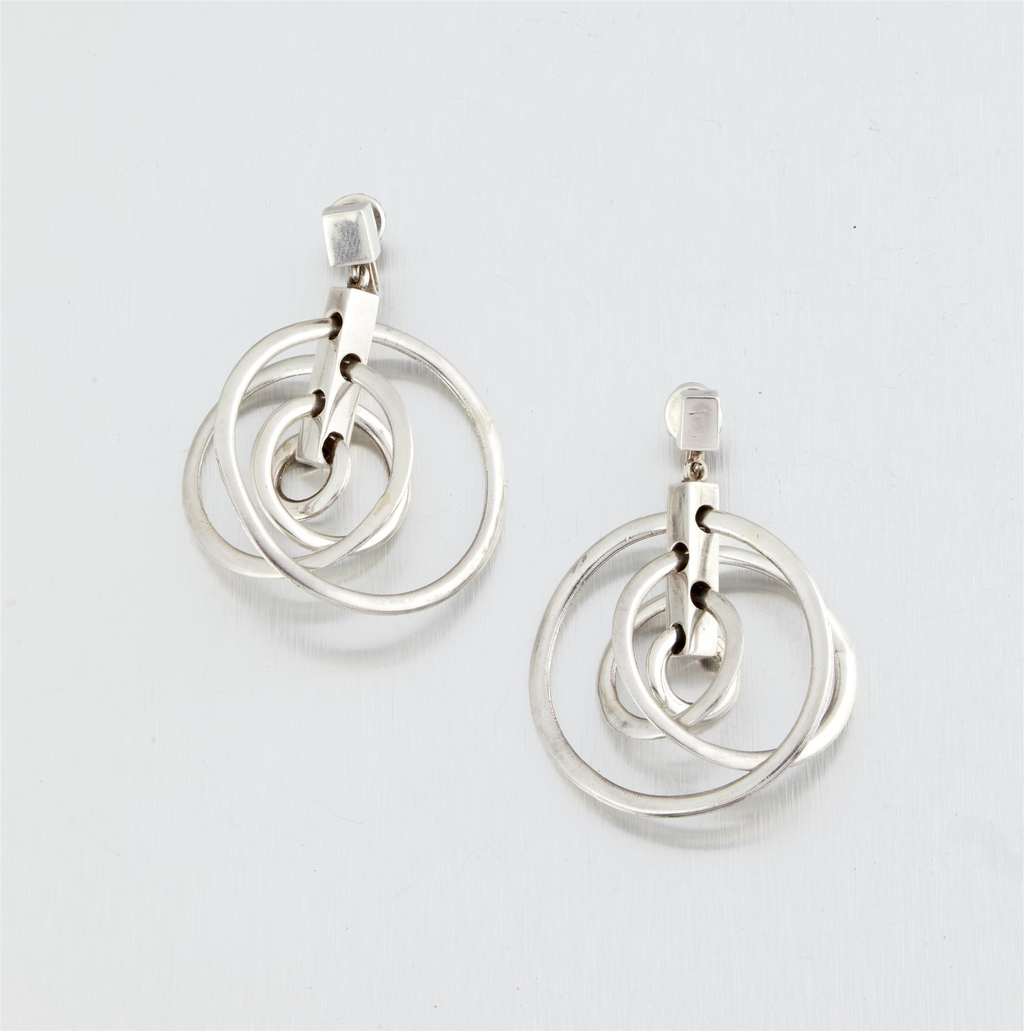 A pair of Antonio Pineda earrings