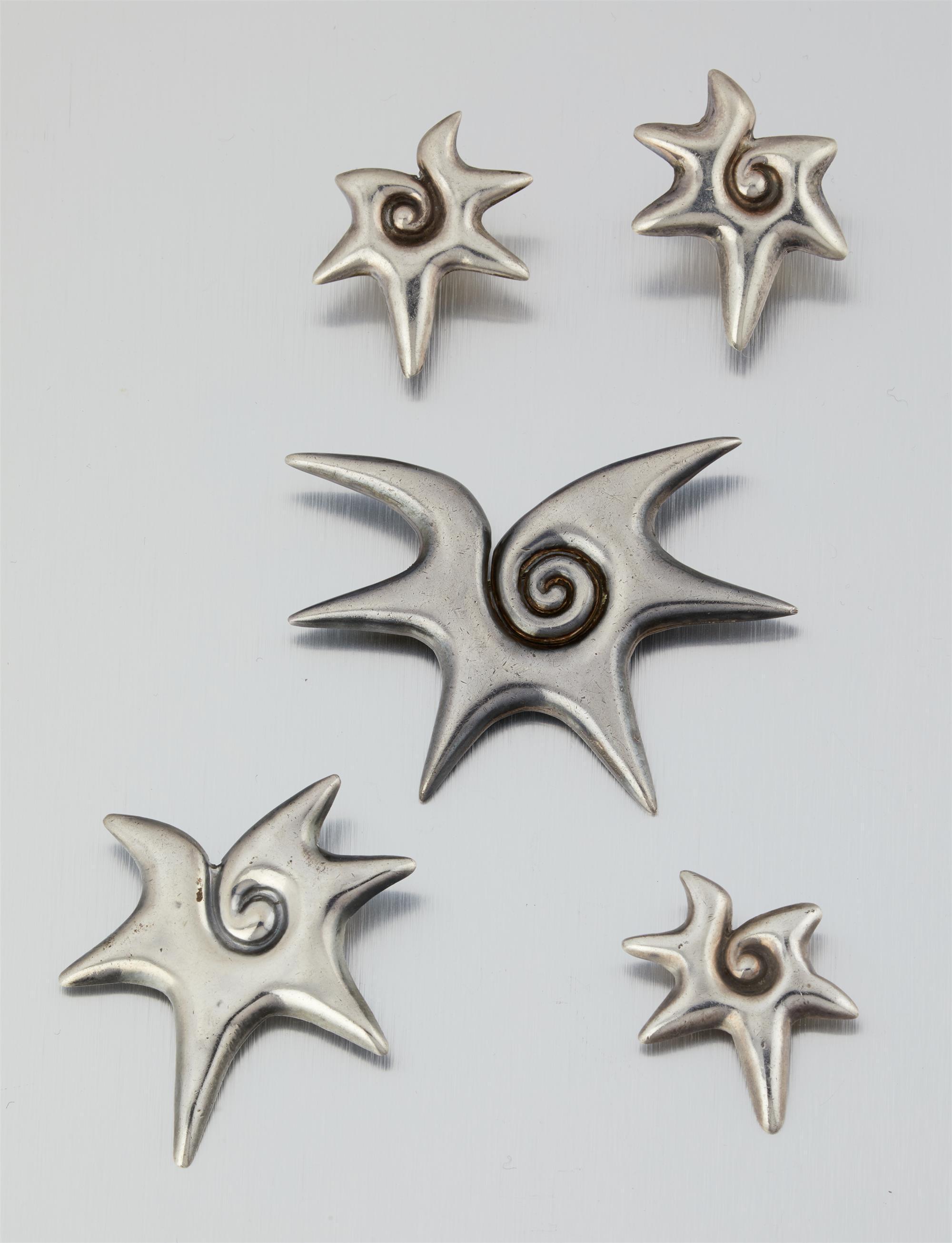 "A group of William Spratling ""Choluteca Conch"" jewelry"