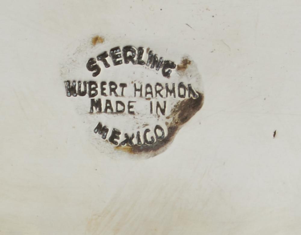 Two Hubert Harmon sterling silver