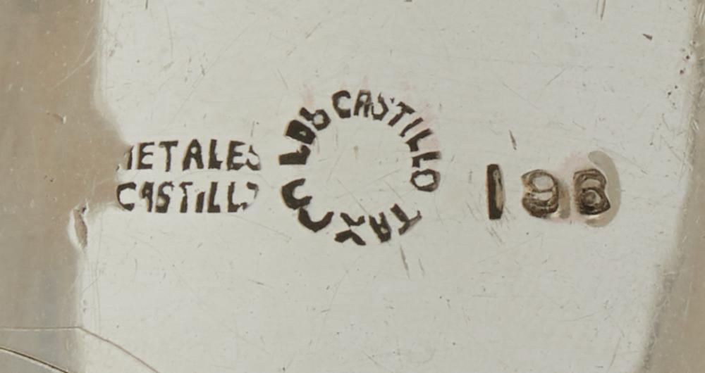 A Los Castillo mixed-metal cuff