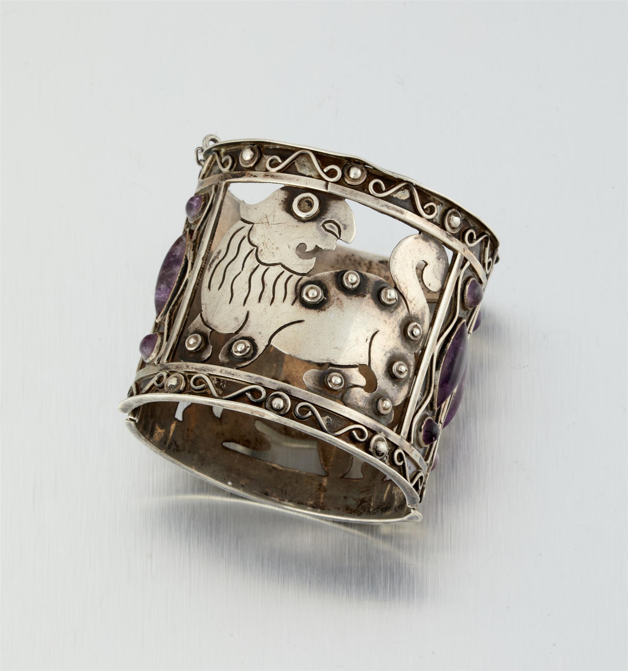 An Abraham Paz cuff bracelet