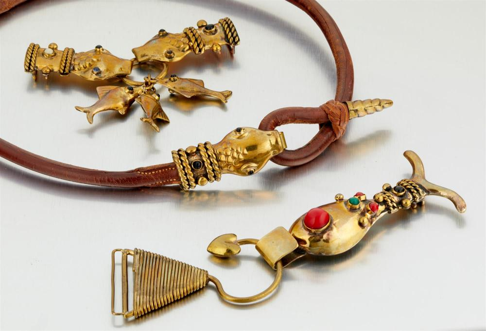 A group of Hubert Harmon accessories