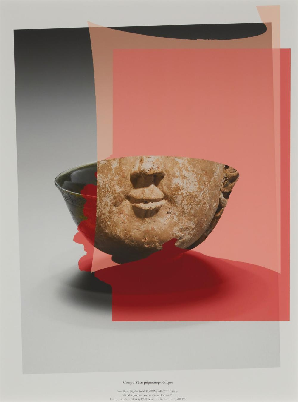 """Walid Raad, (b. 1967, Lebanese), """"Preface to the Third Edition (Édition française) Plate III,"""" 2012, Color inkjet print on paper under"""