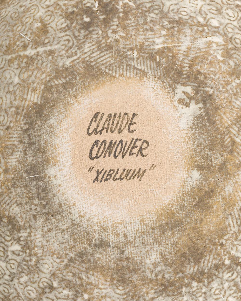 Claude Conover, (1907-1994 American),