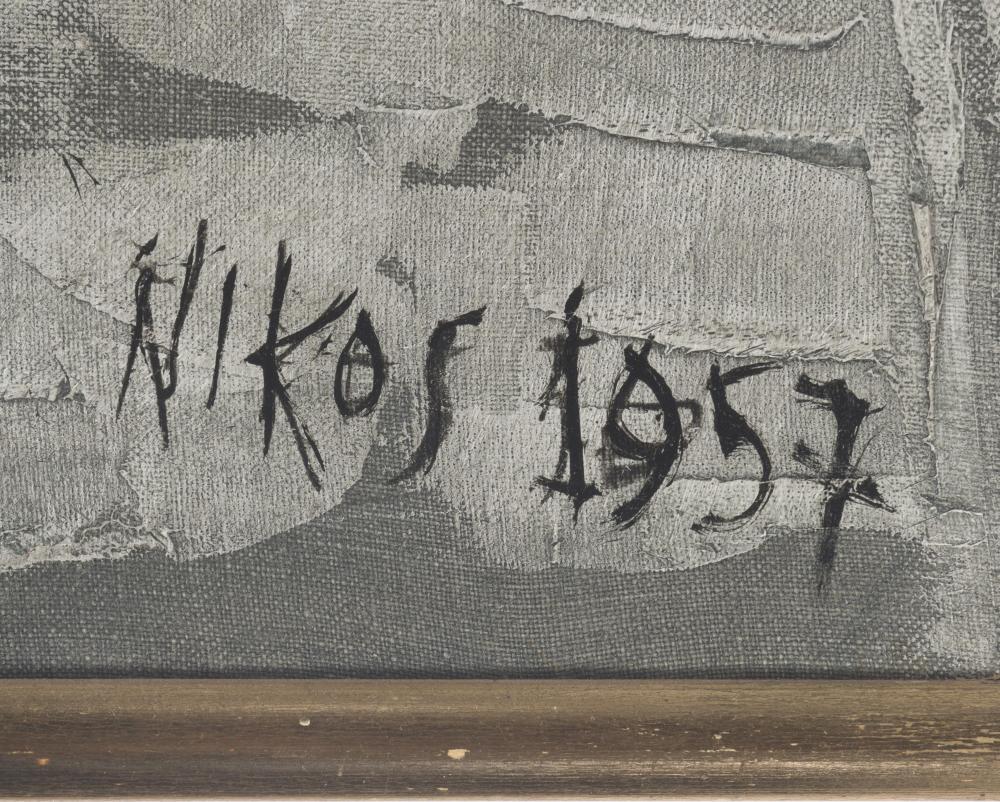 Nikos Kessanlis, (1930-2004 Greek),
