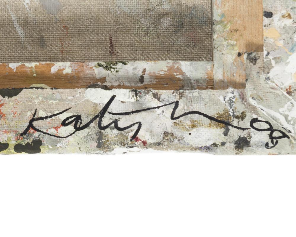 Katy Moran, (b. 1975 British), Untitled, 2008, Acrylic on canvas, 15