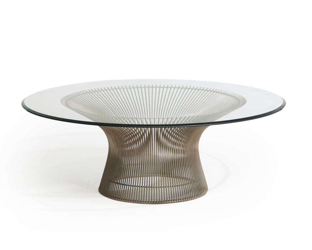 A Warren Platner for Knoll coffee table