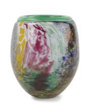 An Italian art glass vase