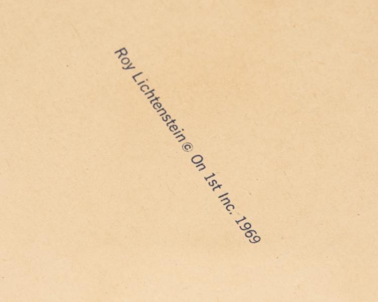 Roy Lichtenstein (1923-1997 New York, NY)