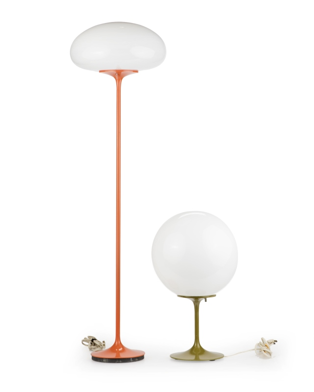 2 Bill Curry for Design Line Stemlite lamps